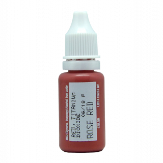 Rose red biotouch micro pigment